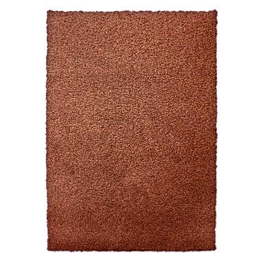 Lanart Modern Shag Area Rug, 6' x 8', Orange
