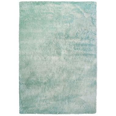 Lanart Fur Shag Area Rug, 8' x 10', Blue