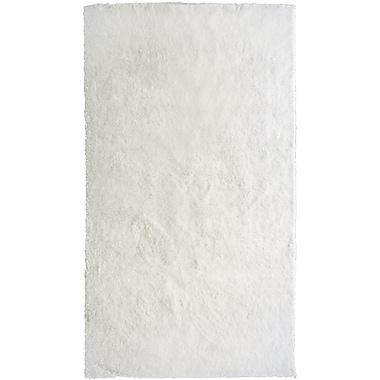Lanart Fur Shag Area Rug, 8' x 10', White