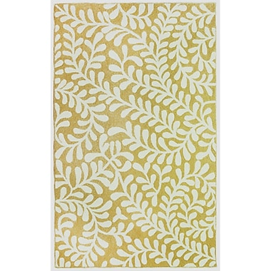 Lanart Serena Area Rug, Yellow