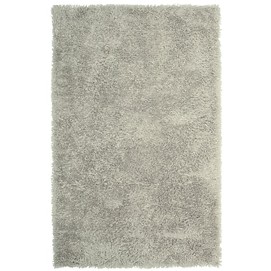 Lanart Soft Shag Area Rug, 4' x 6', Grey