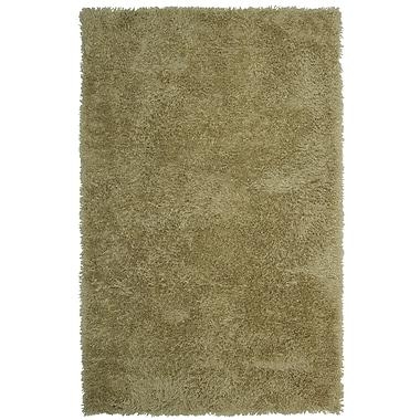 Lanart Soft Shag Area Rug, 8' x 10', Taupe