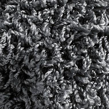 Lanart Shag-Ola Area Rug, 9' x 12', Charcoal
