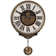 Uttermost 6021 Vincenzo Bartolini Wall Clock, Cream