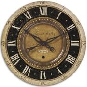 Uttermost 6028 Auguste Verdier 27 Wall Clock, Black/Gray