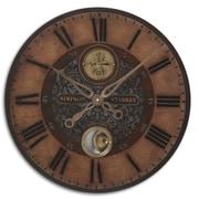 Uttermost 6038 MDF/Brass/Aluminum Analog Simpson Starkey Wall Clock