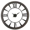Uttermost 6084 Ronan Large Wall Clock, Rustic Bronze