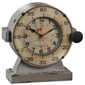 Uttermost 6096 Marine Table Clock, Aged Ivory/Gray