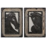 Uttermost Carolyn Kinder 2-Piece Aerion Metal Wall Art