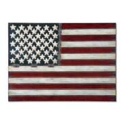 Uttermost Grace Feyock American Flag Metal Wall Art