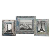 "Uttermost 3-Piece Acheron Photo Frame Set, 15"" x 13"" x 1"""