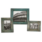 "Uttermost 3-Piece Marlais Bronze Photo Frame Set, 15"" x 13"" x 1"""