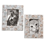 "Uttermost 2-Piece Spirula Photo Frame Set, 10"" x 7"" x 1"""