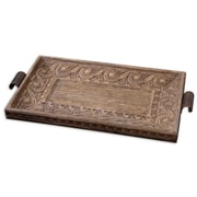 Uttermost Camillus Wood Framed Decorative Tray, Wood