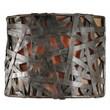 Uttermost Alita 1 Light Wall Sconce, Aged Black/Rust
