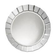 Uttermost 34 x 34 x 2 Fortune Frameless Round Mirror