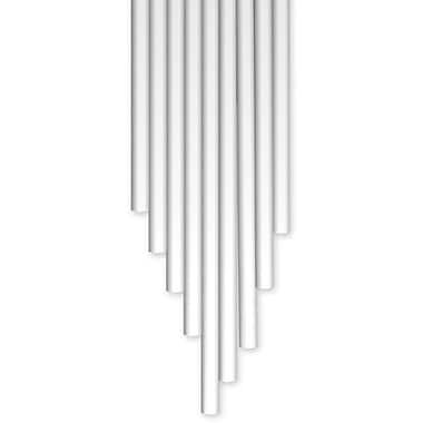 3Doodler Acrylonitrile Butadiene Styrene Plastic AB06-POLA Strands, Polar White