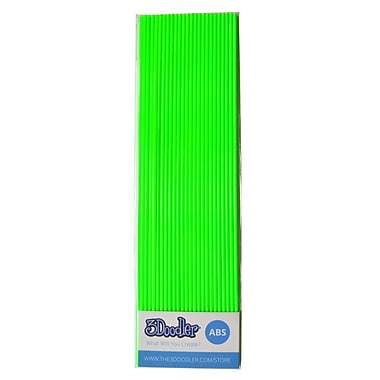 3Doodler ABS AB12-GRRR Plastic Strands, Grrreally Green