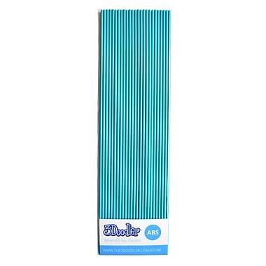 3Doodler ABS AB16-TEAL Plastic Strands, Totally Teal