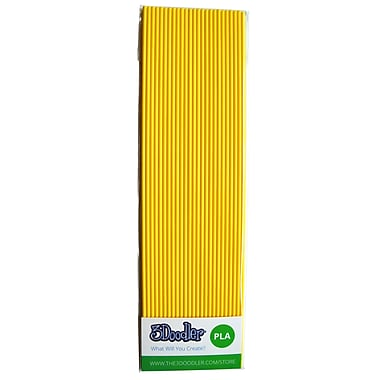 3Doodler PLA PL05-DUCK Plastic Strands, Ducky Yellow