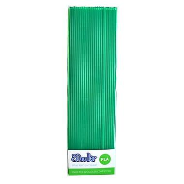 3Doodler PLA PL12-CLGR Plastic Strands, Clearly Green