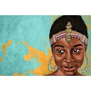 Maxwell Dickson ''Princess Mauhbohn'' Graphic Art on Canvas; 36'' H x 48'' W