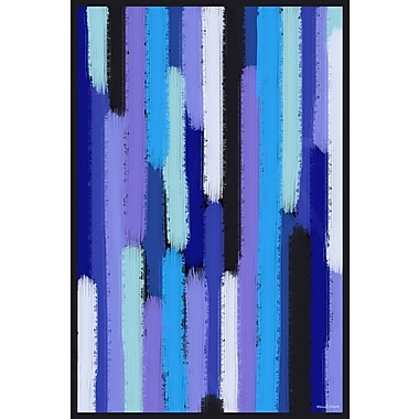 Maxwell Dickson ''Waterfall Showers'' Graphic Art on Canvas; 48'' H x 36'' W