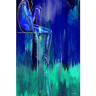 Maxwell Dickson ''Night Watch'' Graphic Art on Canvas; 24'' H x 36'' W