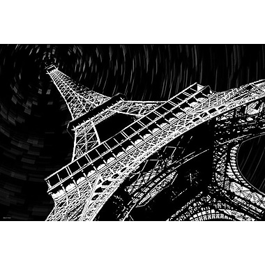 Maxwell Dickson ''Eiffel ToThe Maxwell Dickson'' Graphic Art on Wrapped Canvas; 18'' H x 24'' W
