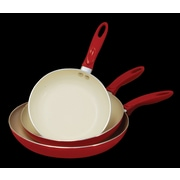 Cook Pro 3 Piece Non-Stick Frying Pan Set