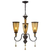 World Imports Lighting Amber Marie 3 Light Chandelier