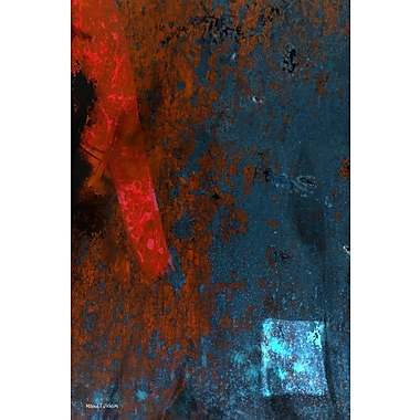 Maxwell Dickson ''Strike'' Painting Print on Canvas; 60'' H x 40'' W