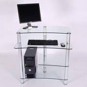 RTA Home And Office 32'' W Computer Desk with Keyboard Tray