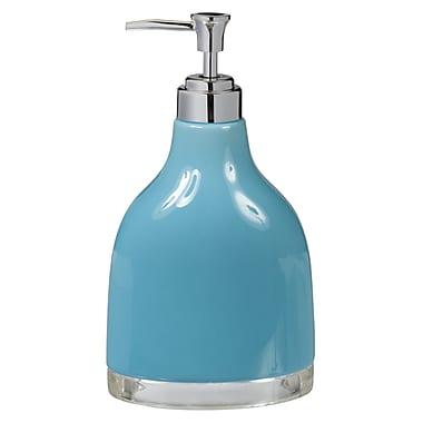 Creative Bath Gem Lotion Dispenser; Turquoise