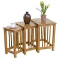Sunny Designs Sedona 3 Piece Nesting Tables
