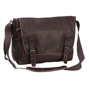 Preferred Nation The Mason Messenger Bag; Brown