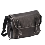 Preferred Nation The Mason Messenger Bag; Black