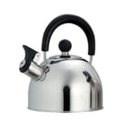 Creative Home Simplicity 1.5-qt. Whistle Tea Kettle; Brushed Stainless Steel