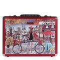 Nicole Lee Priscilla Bicycle Laptop Briefcase