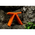 B&T Design PI Cat A Oslo Fabric Stool; Orange