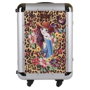 Nicole Lee 21'' Hardsided Spinner Carry-On Suitcase