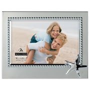 Malden 4'' x 6'' Starfish Beaded Metal Picture Frame
