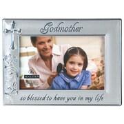 Malden 4'' x 6'' Godmother Metal Picture Frame