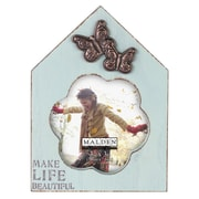 Malden 4'' x 4'' Make Life Beautiful House Picture Frame