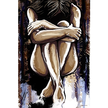 Maxwell Dickson ''Ashley'' Painting Print on Canvas; 36'' H x 24'' W