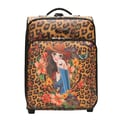 Nicole Lee 21'' Carry-On Suitcase; Camel