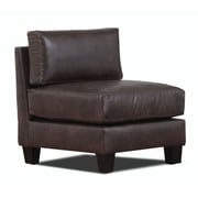 Carolina Accents Lasalle Slipper Chair; Coffee