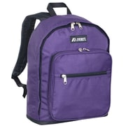 Everest Standard Backpack; Eggplant / Black