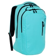 Everest Modern Laptop Backpack; Aqua Blue