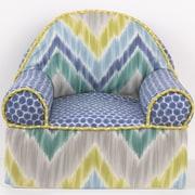 Cotton Tale Zebra Romp Kids Cotton Foam Chair